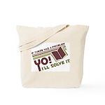 Yo! I'll Solve It Tote Bag