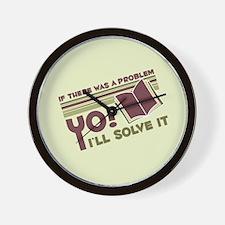 Yo! I'll Solve It Wall Clock