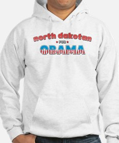 North Dakotan For Obama Hoodie