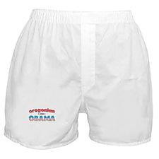 Oregonian For Obama Boxer Shorts