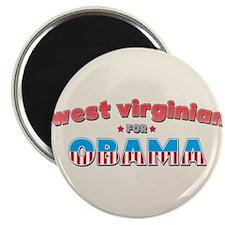 West Virginian For Obama Magnet