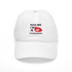 Kiss me I'm a Paralegal Baseball Cap