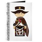 Poncho Cowboy Sheriff Journal