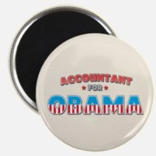 Accountant For Obama Magnet