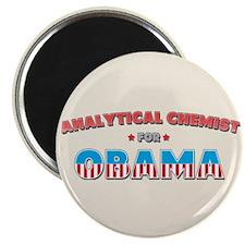 Analytical Chemist For Obama Magnet