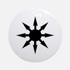 Chaos star Ornaments Ornament (Round)