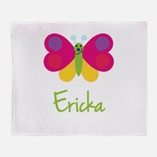 Ericka The Butterfly Throw Blanket