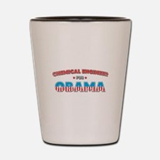 Chemical Engineer For Obama Shot Glass