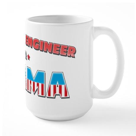 Chemical Engineer For Obama Large Mug