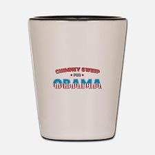 Chimney Sweep For Obama Shot Glass