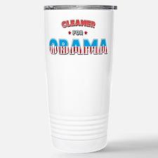 Cleaner For Obama Stainless Steel Travel Mug