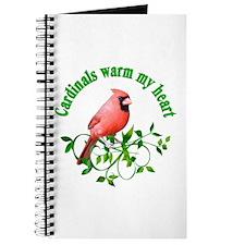 Cardinals Warm My Heart Journal