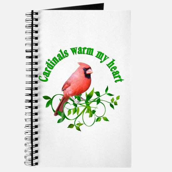 Cardinals Warm My Heart Journal