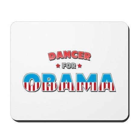 Dancer For Obama Mousepad