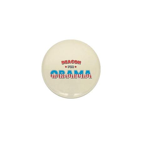 Deacon For Obama Mini Button (100 pack)