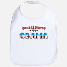 Dental Nurse For Obama Bib