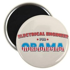 """Electrical Engineer For Obama 2.25"""" Magnet (10 pac"""