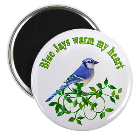 """Blue Jays Warm My Heart 2.25"""" Magnet (10 pack)"""