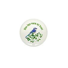 Blue Jays Warm My Heart Mini Button (10 pack)