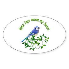 Blue Jays Warm My Heart Decal