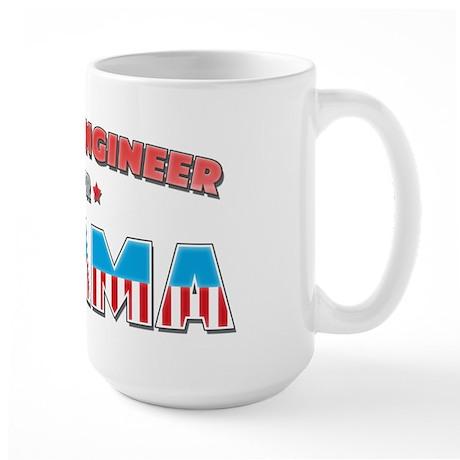 Flight Engineer For Obama Large Mug