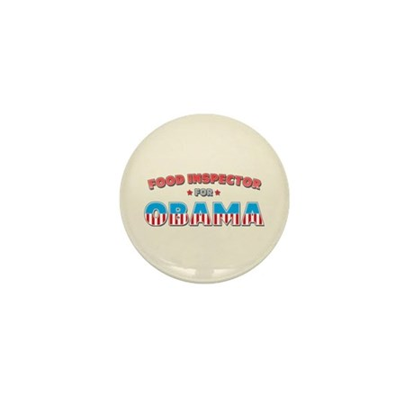 Food Inspector For Obama Mini Button
