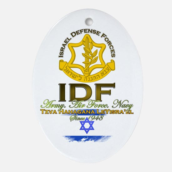 IDF Ornament (Oval)