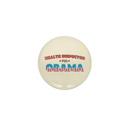 Health Inspector For Obama Mini Button (100 pack)