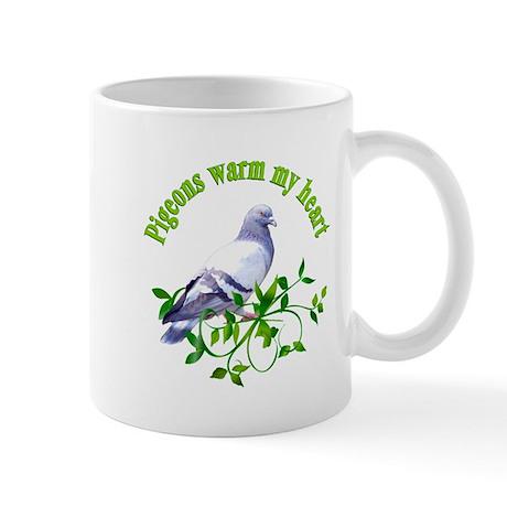 Pigeons Warm My Heart Mug