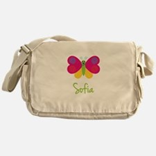 Sofia The Butterfly Messenger Bag