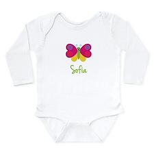 Sofia The Butterfly Long Sleeve Infant Bodysuit