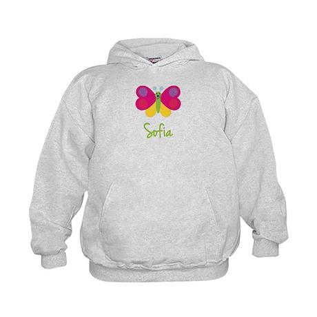 Sofia The Butterfly Kids Hoodie