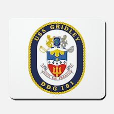 USS Gridley DDG 101 Mousepad