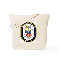 USS Gridley DDG 101 Tote Bag