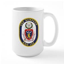 USS Sampson DDG 102 Mug