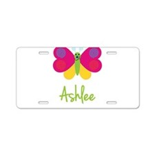 Ashlee The Butterfly Aluminum License Plate