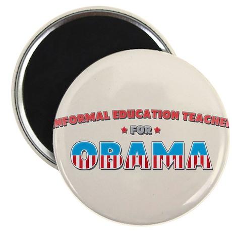 "Informal Education Teacher Fo 2.25"" Magnet (10 pac"