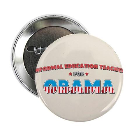 "Informal Education Teacher Fo 2.25"" Button (10 pac"