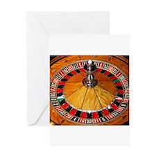 Vegas Casino Greeting Card