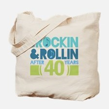 40th Anniversary Rock N Roll Tote Bag