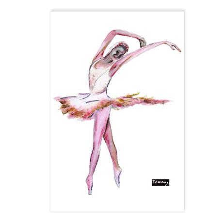 dance, ballet Postcards (Package of 8)