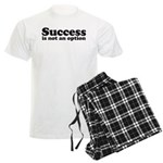 Success is not an option Men's Light Pajamas