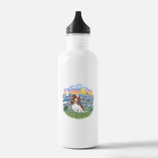 SunriseLilies-Cavalier #2 Water Bottle