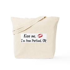Kiss Me: Portland Tote Bag