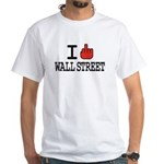 I f*ck Wall Street White T-Shirt