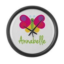 Annabelle The Butterfly Large Wall Clock