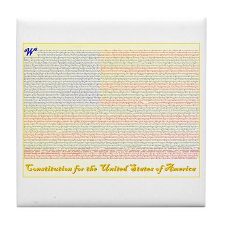 Your Constitutional Tile Coaster