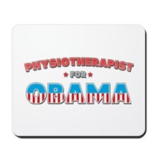 Physiotherapist For Obama Mousepad