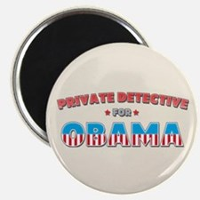 "Private Detective For Obama 2.25"" Magnet (10 pack)"