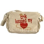 Erik Lassoed My Heart Messenger Bag
